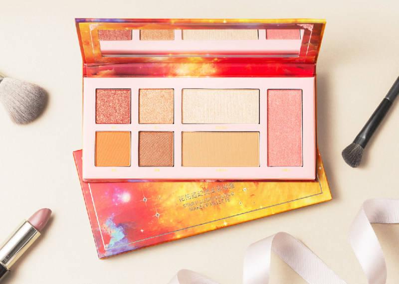 这是什么神仙颜值的彩妆盘?化妆包有它就够了!