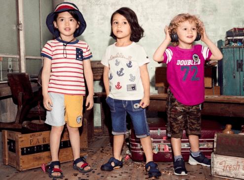 让孩子每天都舒适 MIKI HOUSE的简单&清爽的夏日OOTD合集