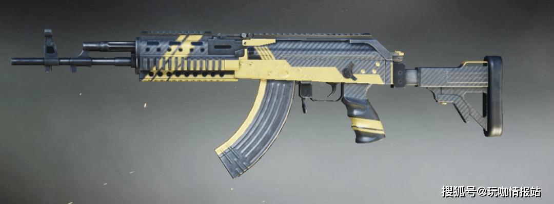 和平精英:M762猛男專用槍械 猛不猛試試就知道