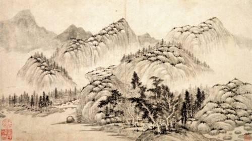 千古名画──董源《烟岚重溪图》惊现西泠春拍