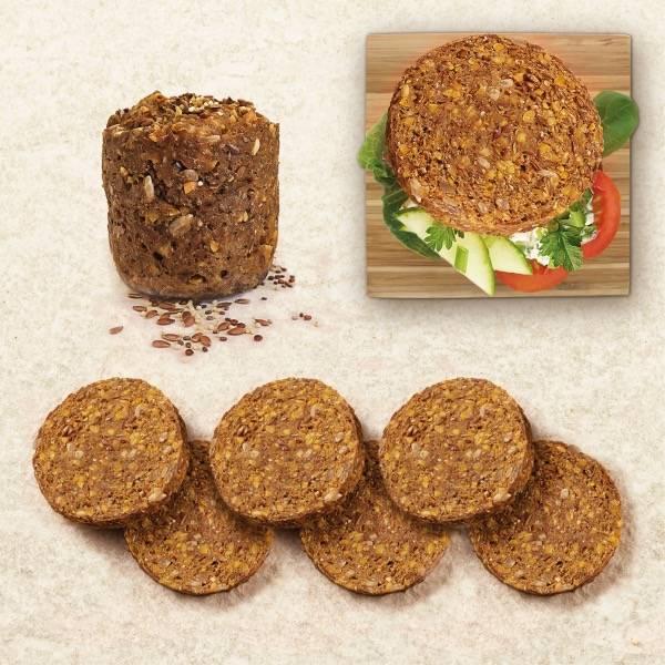 低脂低卡低碳高蛋白面包——德国Minutenbrot