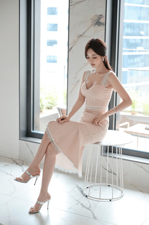 韩国第一模特孙允珠,媲美韩佳人,孙允珠的完美身材!