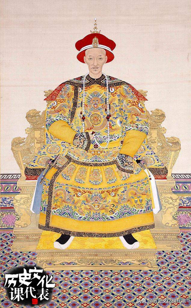 清朝皇帝列表顺口溜(清朝最没用的五个皇帝)