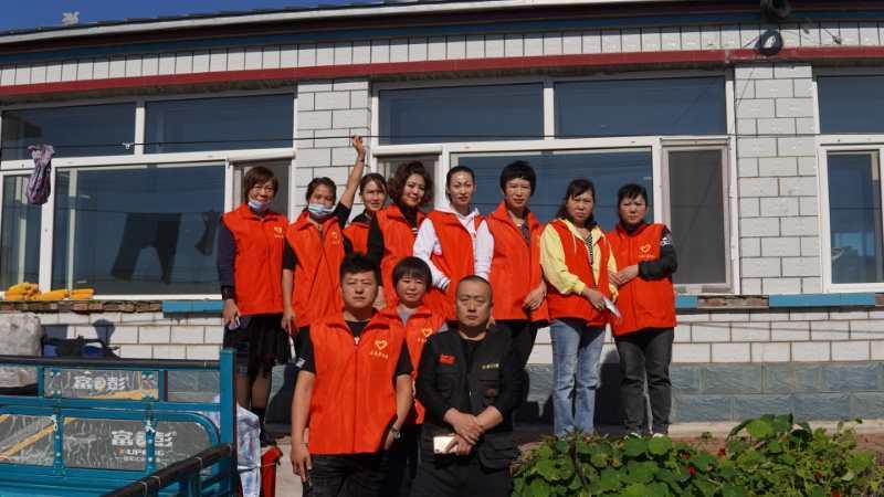 克东县志愿者协会开展关爱弱势群体、情暖残疾家庭活动