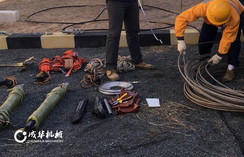 成华手扳葫芦:电力人推荐的手动牵引检修工具