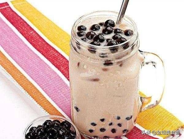 奶茶的做法和配方(家庭自制奶茶)