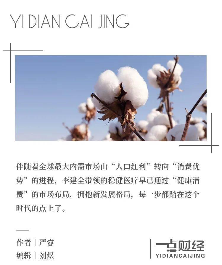 稳健医疗:一朵棉花的价值链挖掘史-一点财经