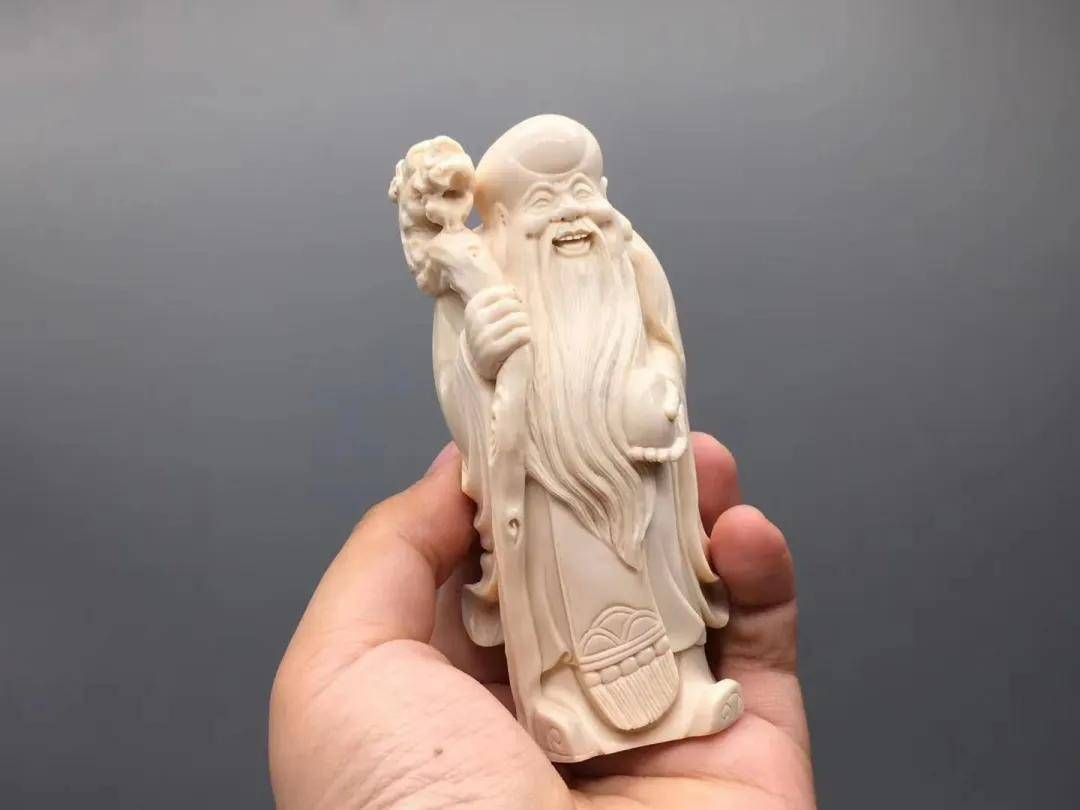 70万成交!它为什么是不老的神话?70万的寿星奇石