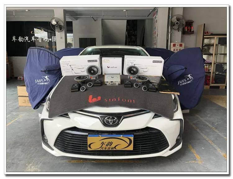 汕头丰田卡罗拉汽车音响改装升级,优质音效系统