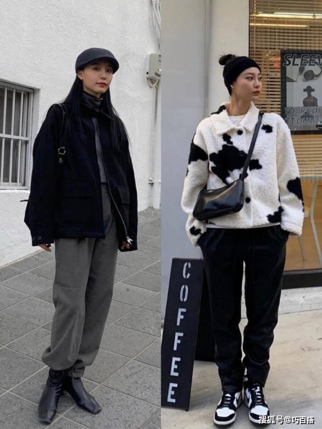 秋冬搭配不用愁!韩国女生的显瘦搭配示范 助你时髦保暖两不误