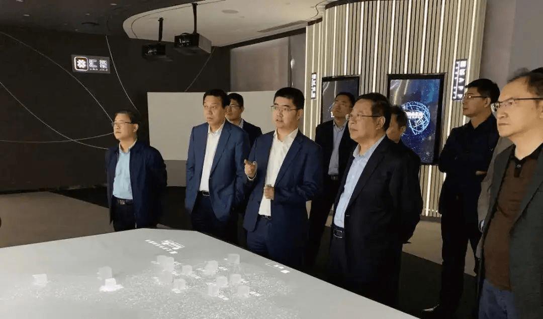山东发展投资控股集团有限公司董事长到访考察亿达未来
