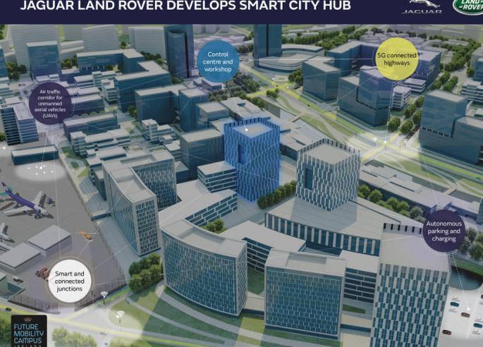捷豹路虎将建设自动驾驶车测试中心