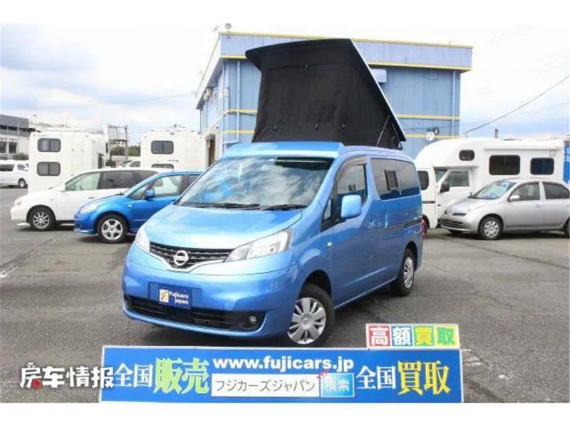 一车2用的日产NV200房车,长4.4米日常开灵活,能住4人