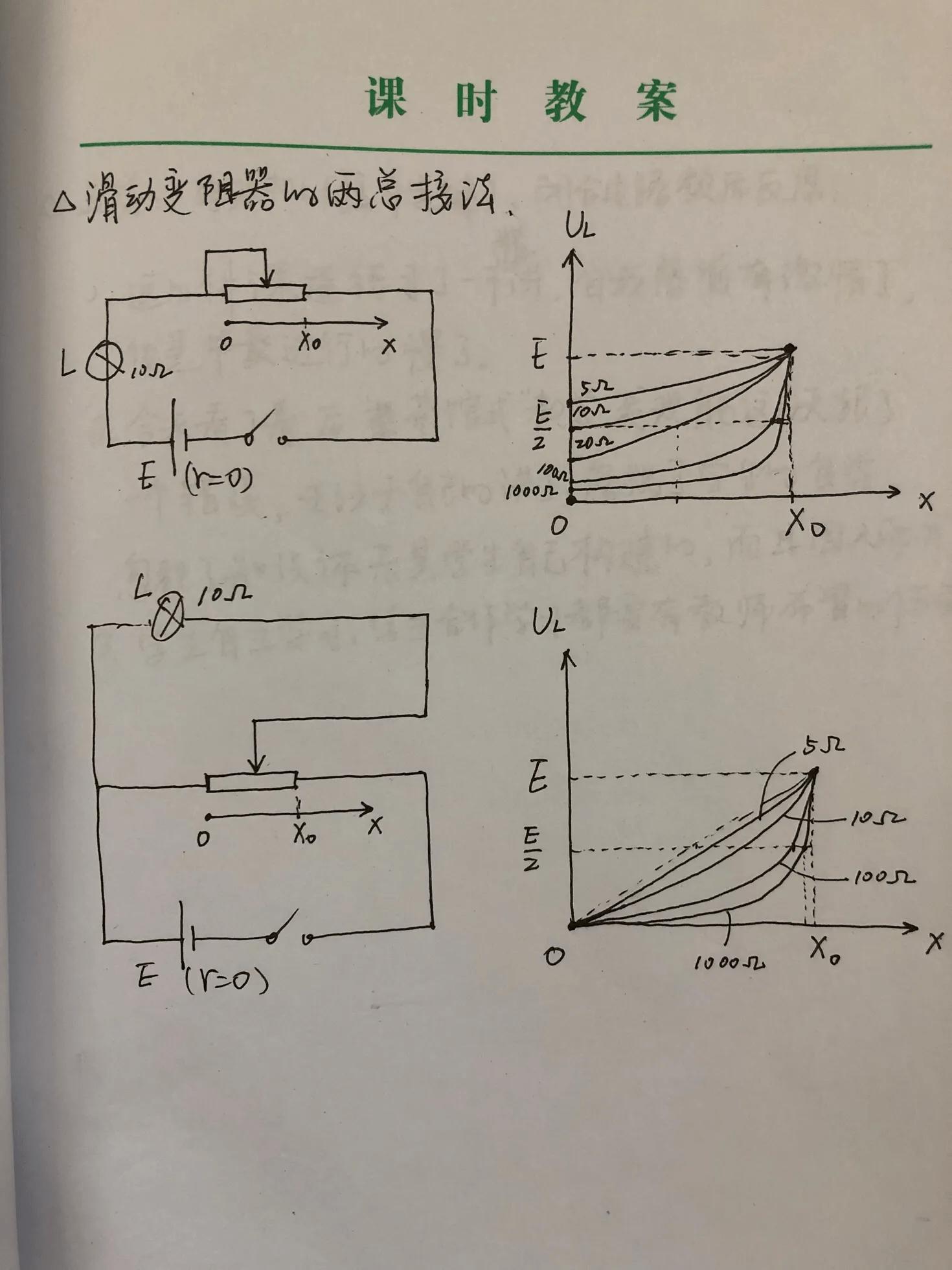 滑动变阻器的接法(滑动变阻器的接法图解实物)