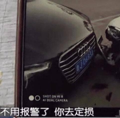 原车被奥迪损坏,车主同意私用,但奥迪没有赔偿