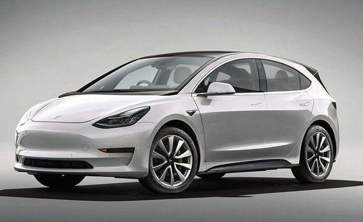 特斯拉全新電動車渲染圖 有望3月完成驗證/起售價16萬元