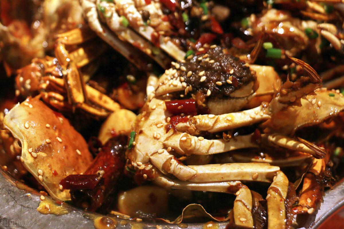 老厨师教你做,麻辣醉蟹的家常做法,味道麻辣鲜香特下饭