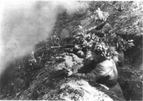 葛岘岭狙击战:我军一个步兵排,歼敌215人自身无