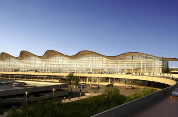 """杭州""""最新""""火车站,规模空前,建成后去浦东机场只需1小时"""