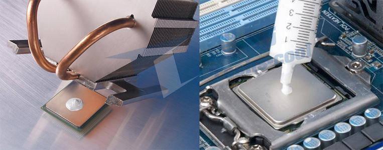 导热硅脂用在电器中非常安全,无论是