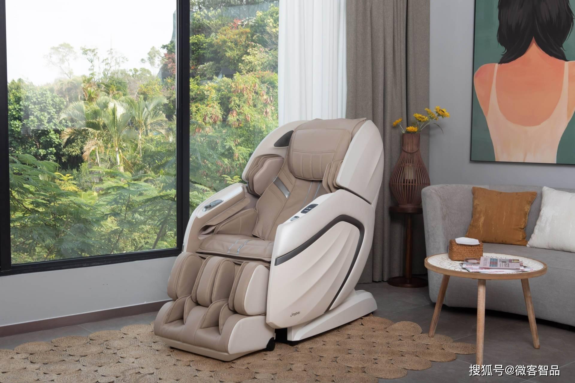 原创智慧新升级!Joypal AI享受至尊按摩椅:引领科技舒适体验