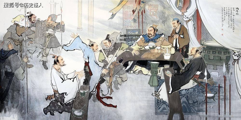 为什么说鸿门宴是三个明白人和一个糊涂人的宴会?