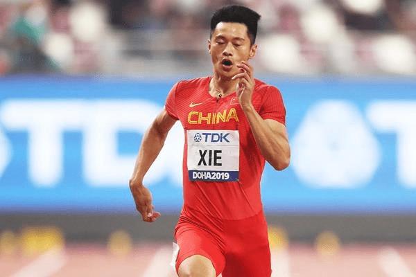 谢震业200米20秒72夺冠 新人李文杰飙百米出10秒28_比赛