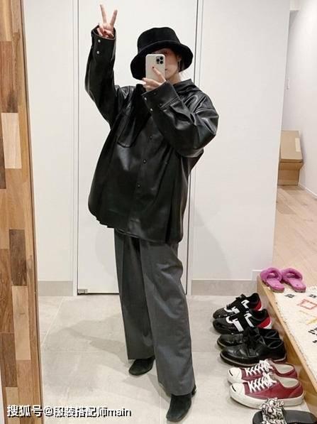 155cm小个子女生别错过休闲裤 照这4种方法选 显高显腿长 爸爸 第24张