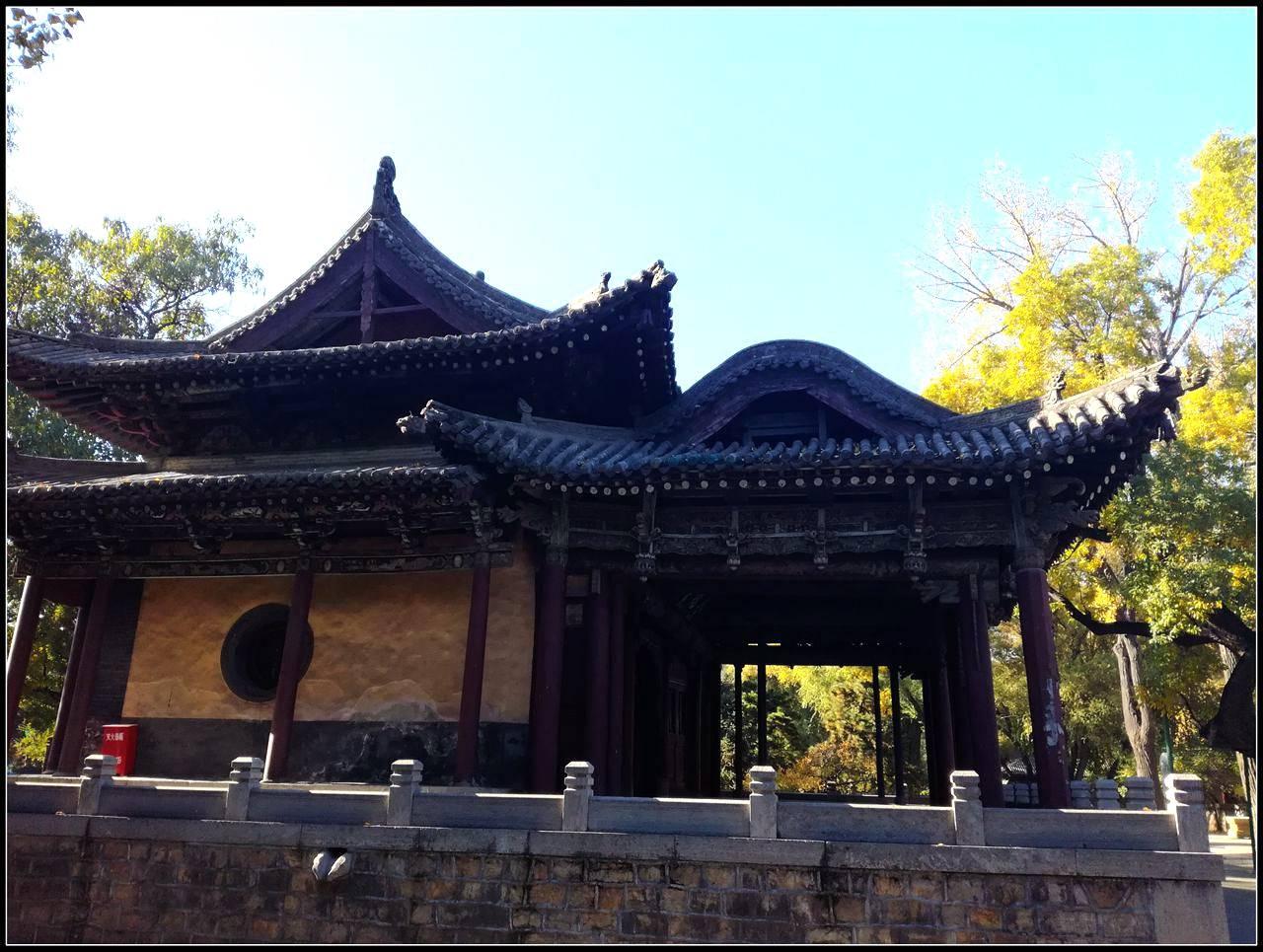 山环水绕无双地,神乐人欢第一区——太原晋祠游记4、水镜台,金人台,对越坊  第9张