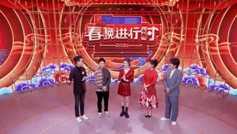 """春晚幕后花絮曝光,李沁换发型不敢认,欧阳娜娜""""肉包脸""""抢镜"""