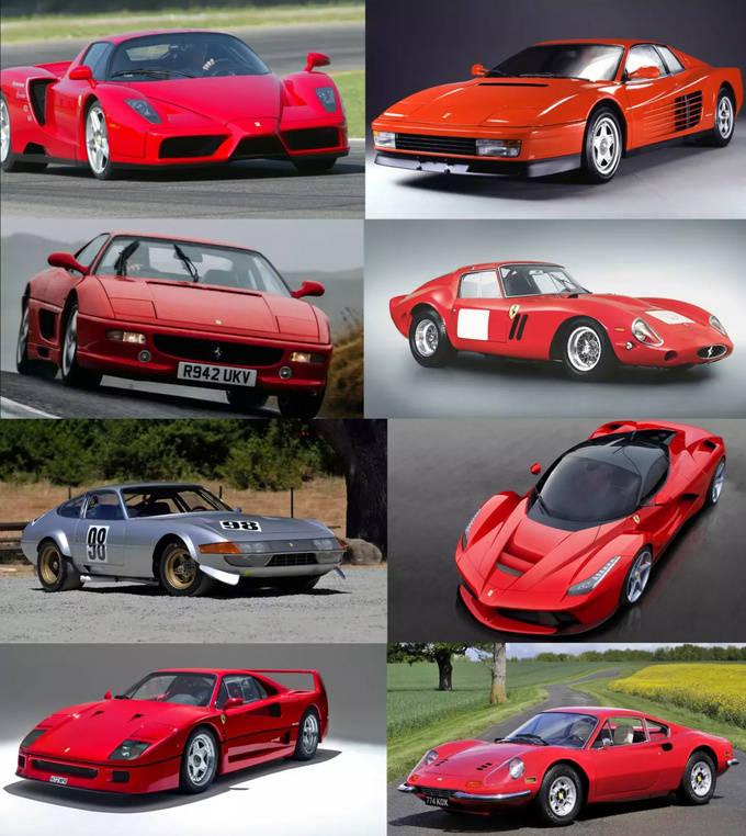 史上十佳法拉利跑车排行榜!最贵一款价值近3.5亿