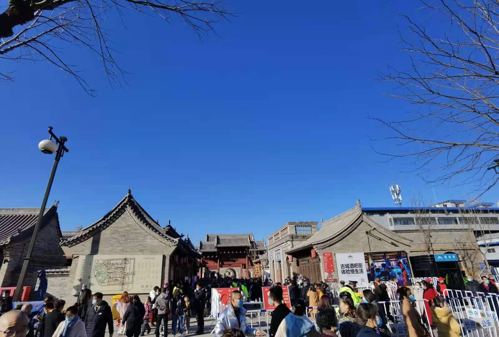 中国年在忻州 山西:房车出游新风尚 忻州古城品年味(组图)  第5张