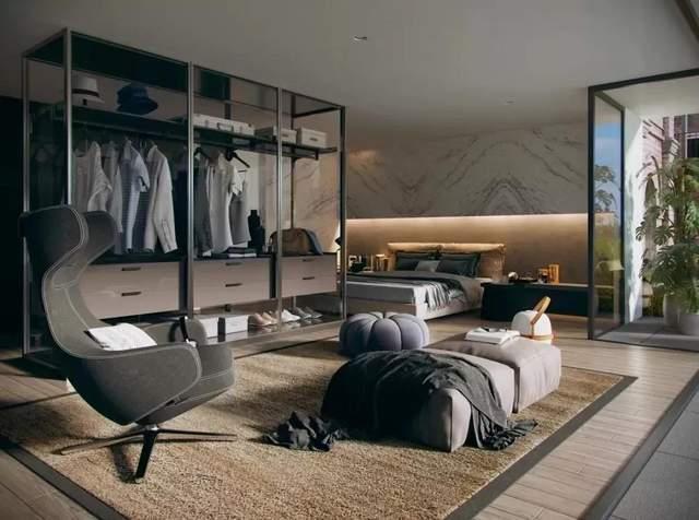 别瞎买衣柜了!2021年卧室盛行这样装