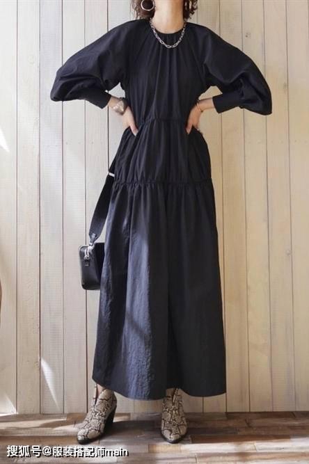 原创             中年女人的裙子在精不在多,春天穿好这几条,气质提升一大截