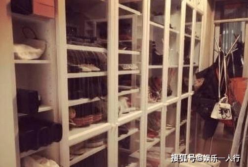 参观张馨予家里的装修,连客厅也要做满衣柜,衣服买得也太多了