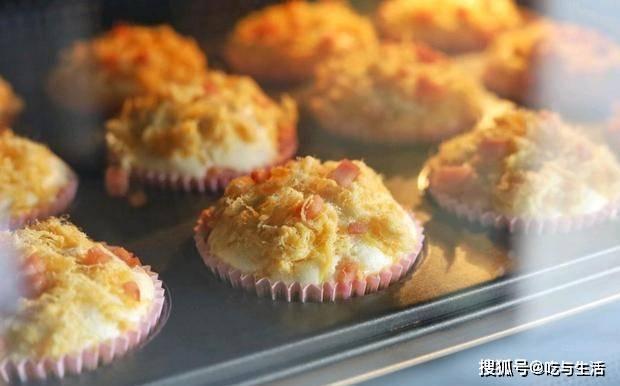 口感松软的培根肉松蛋糕,0失败新手学一次就会,美味又蓬松  第12张