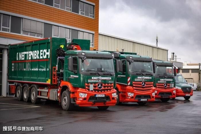 原厂专业底盘卡车之王,性能强劲,科技含量高,奔驰Arocs是怎么做到的?