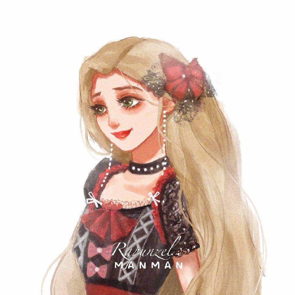 迪士尼公主穿上Lolita,艾莎绝美侧颜,灰姑娘也很精致!