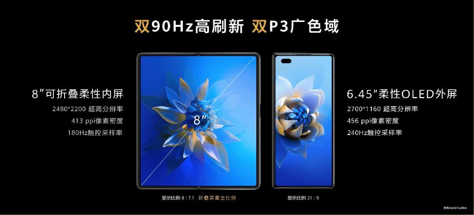 华为发布新一代折叠旗舰Mate X2,重塑折叠屏体验