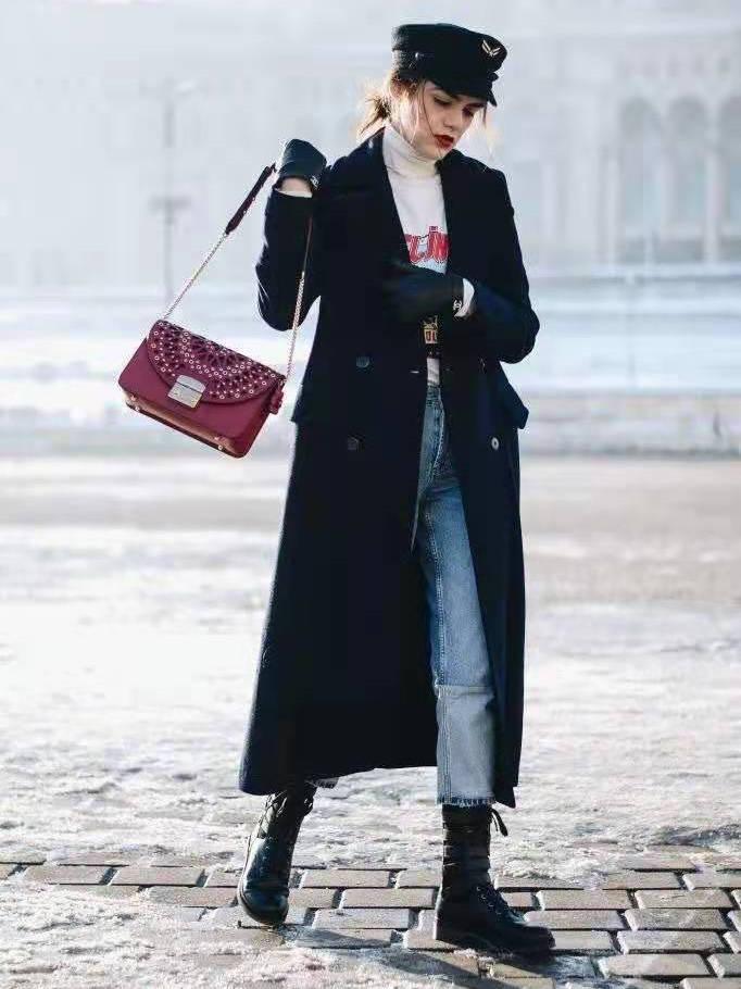 开春第一件外套穿什么?黑色外套可别错过,2种搭配思路随你美