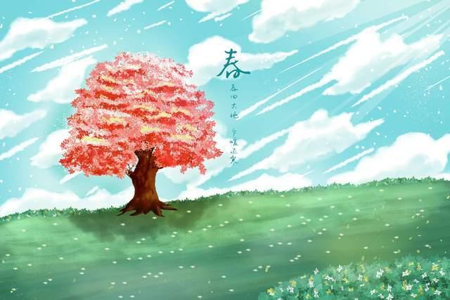 9这种有趣的生活在四季开始时到处都是美丽的