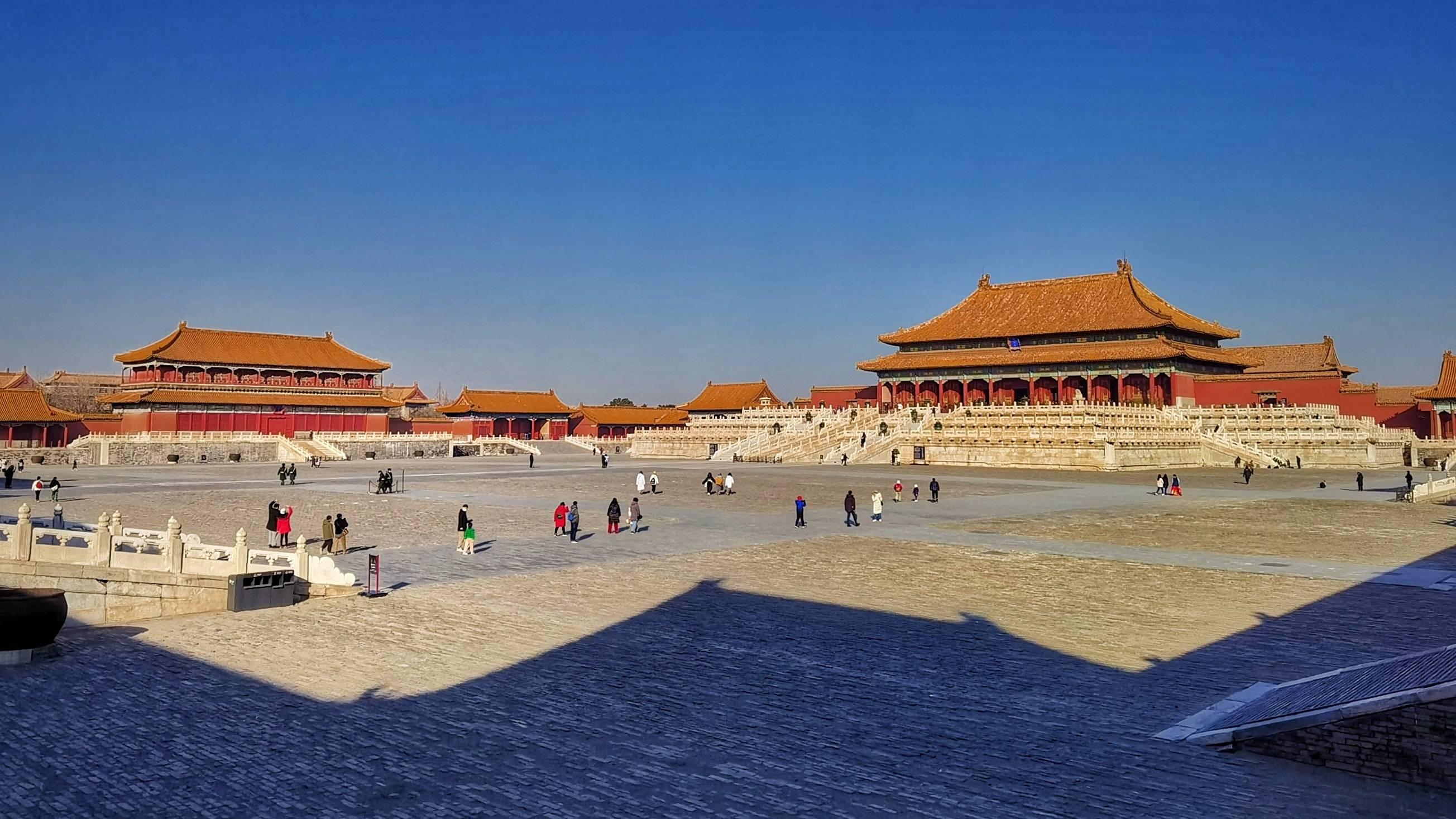 """原创             香港中国旅游社群摄影师郭永林:""""故宫""""穿越时间的建筑之美"""