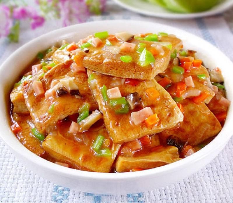 金记食品小厨房丨饱满多汁的浇汁豆腐