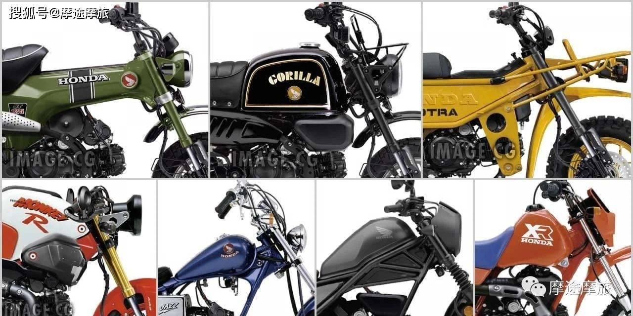 本田Fun Bike迷你摩托,七台有望登场的125衍生车!