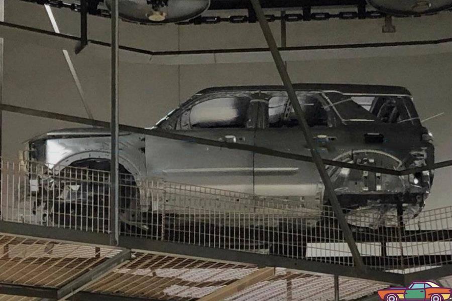 原来福特全新的中小型SUV休准将就这样!?实车照片流出来