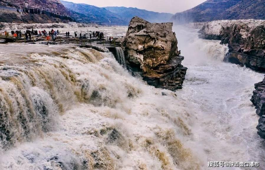 陕西壶口景区恢复开园 迎来首批游客