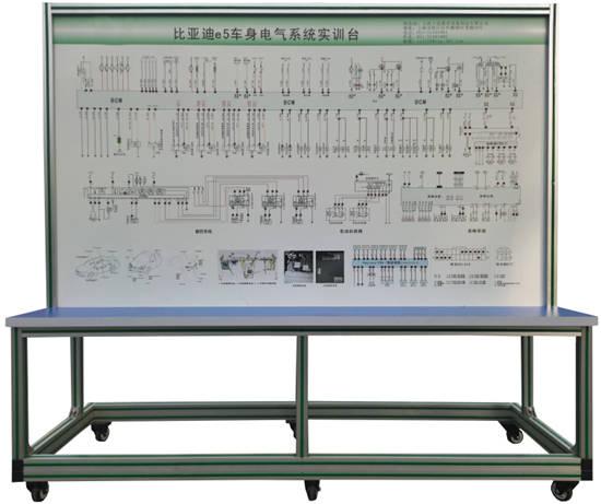 新能源纯电动汽车全车电器操作运行维修教学实训台QY-XNY145_控制系统