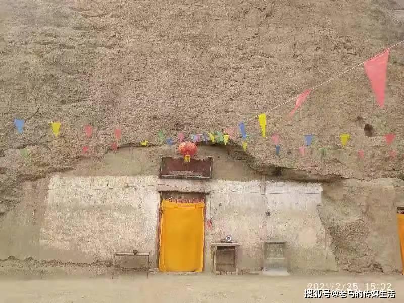何璞瑜:甘肃靖远有个劈佛寺