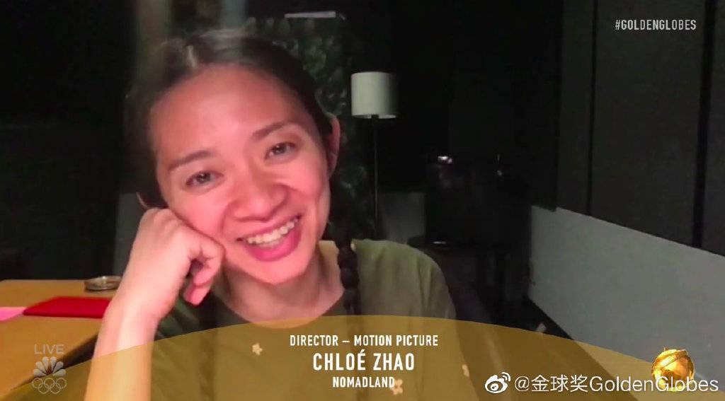 原创             华人赵婷获金球奖最佳导演奖,红毯更是神仙打架,这届金球奖看点十足!