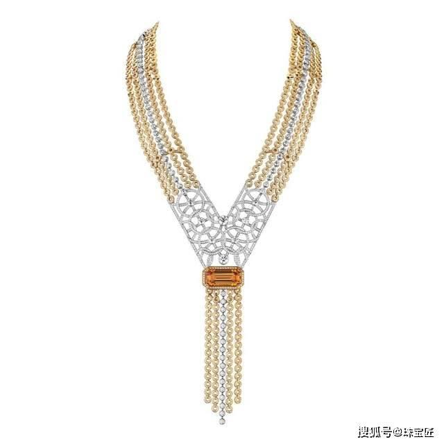 原创             最摇曳生姿的首饰,大牌珠宝的宠儿,不知道流苏珠宝你就out了!